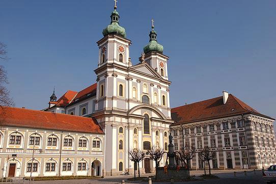 Dominanta Waldsassenu - cisterciácký klášter. Zdroj: Wikipedia