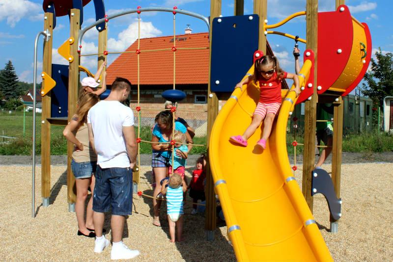 Členství v MAS pomohlo vybudovat ve Staré Chodovské nové místo pro volný čas. Foto: M. Polák