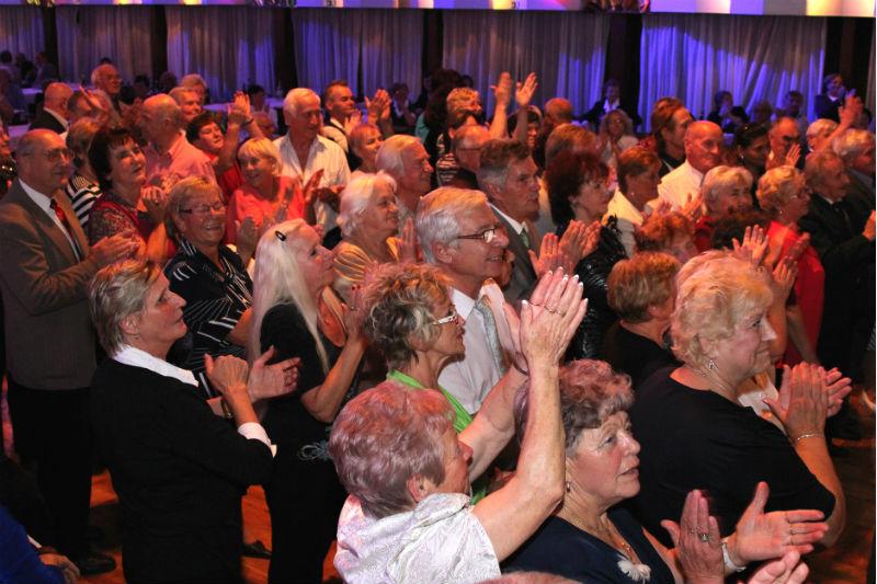 Lidé se při koncertu moravského zpěváka skvěle bavili. Foto: Martin Polák
