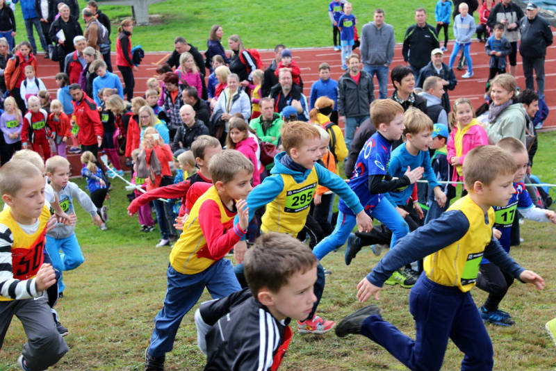 Děti závodily s obrovským zápalem. Foto: Martin Polák
