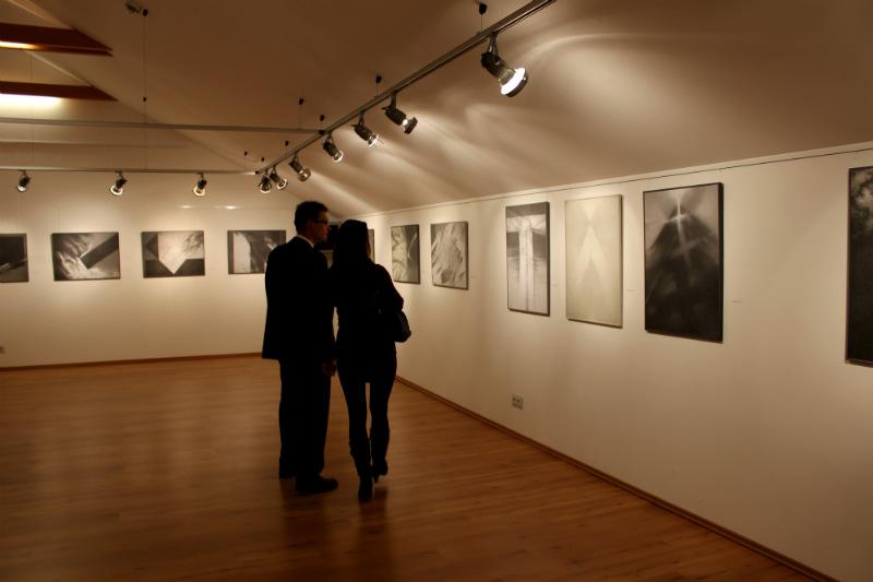 Dvoupatrová galerie v Oelsnitz/Erzgebirge. Foto: Jiří Spěváček