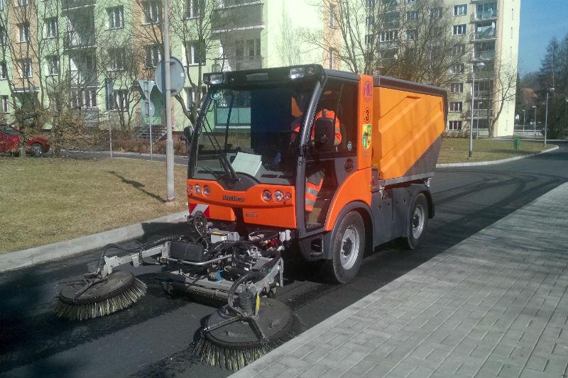 V ulicích Chodova už brzy začne blokové čištění. Foto: Martin Polák