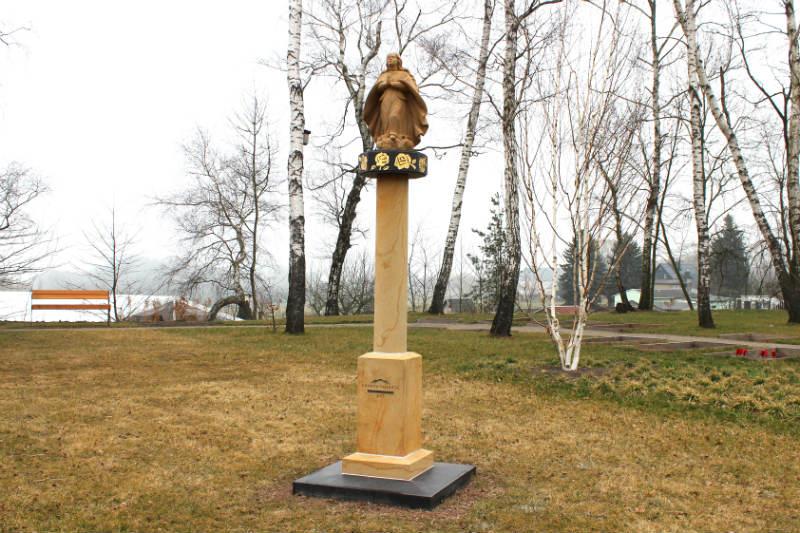 Chodovská socha v německém Oelsnitz/Erzgebirge. Foto: Martin Polák