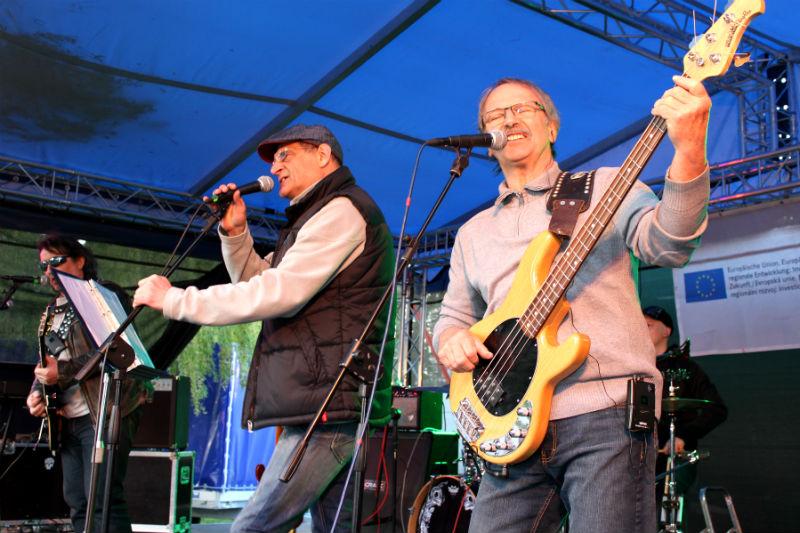 Na pódiu se střídaly především rockové kapely. Foto: Martin Polák