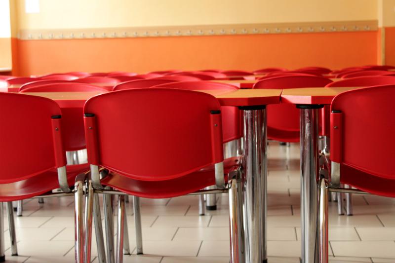 Vnitřek jídelny, kterou v budoucnu čekají změny. Foto: Martin Polák