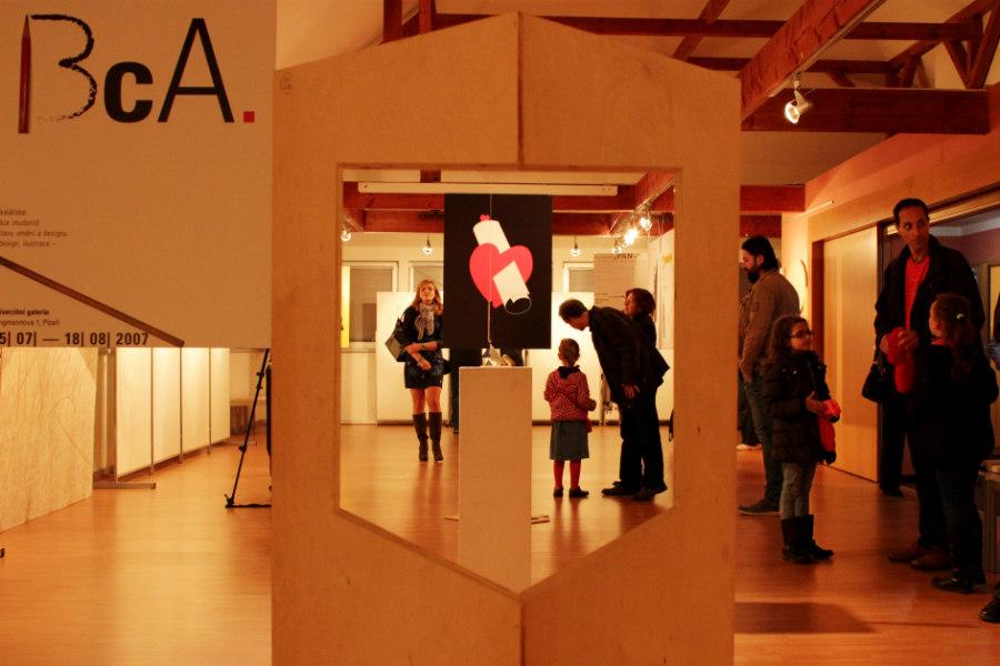 Vernisáž výstavy Sebranosti v chodovské Galerii u Vavřince. Foto: Martin Polák