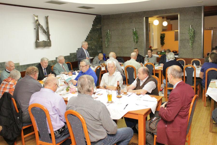 Slavnostní setkání v hotelu Nautilus. Foto: Martin Polák