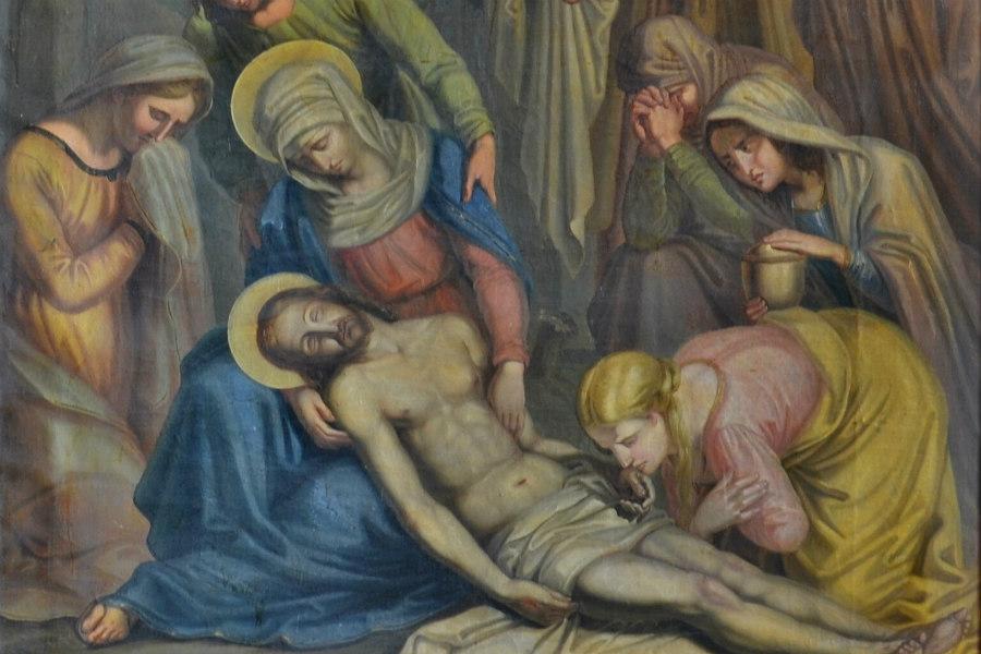 Obraz z chodovské křížové cesty.