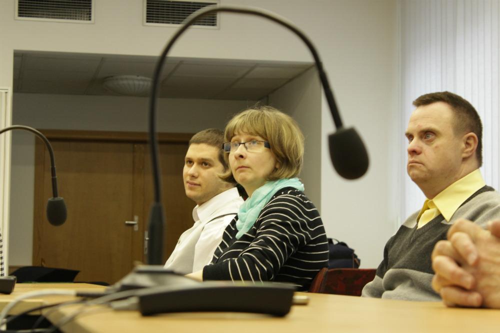 Na místech zastupitelů seděli v pátek klienti Mateřídoušky. Foto: Martin Polák