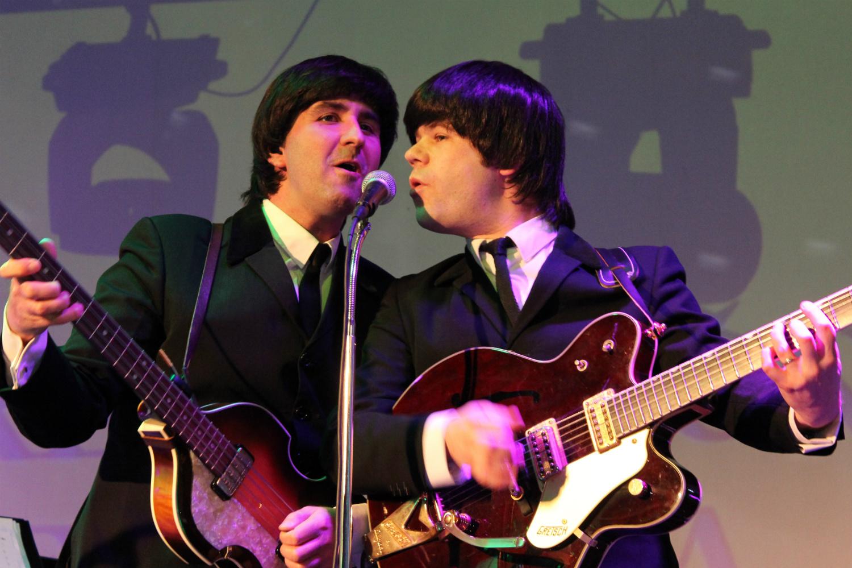 Kapela The Backwards připomínala Beatles nejen hudbou. Foto: M. Polák