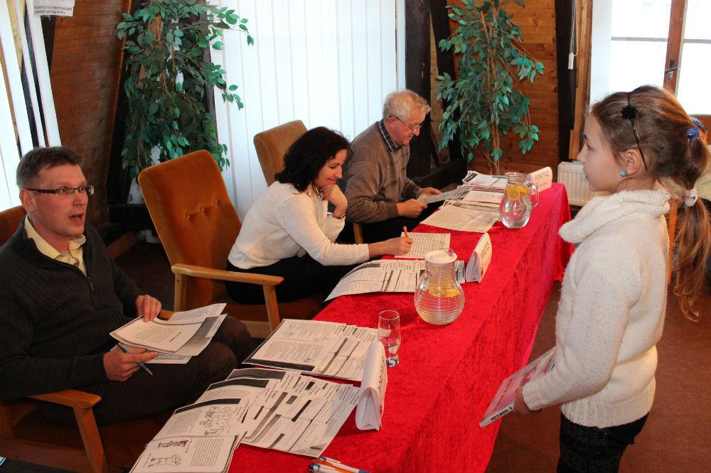 Porotci při práci. Foto: Martin Polák