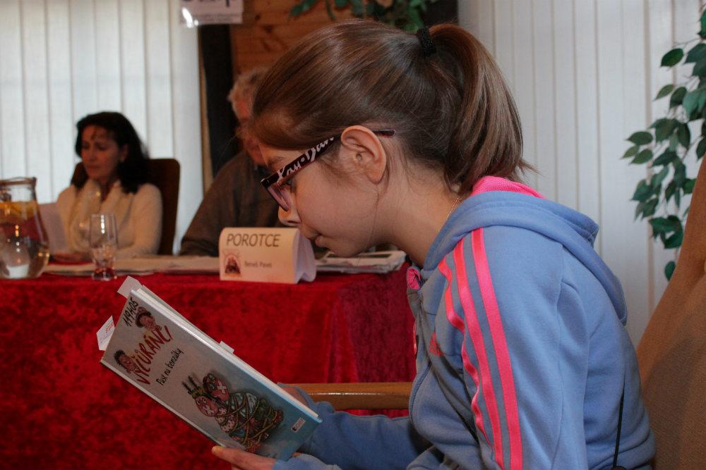 Vítězka kategorie 4. třídy Melisa Janíková. Foto: Martin Polák