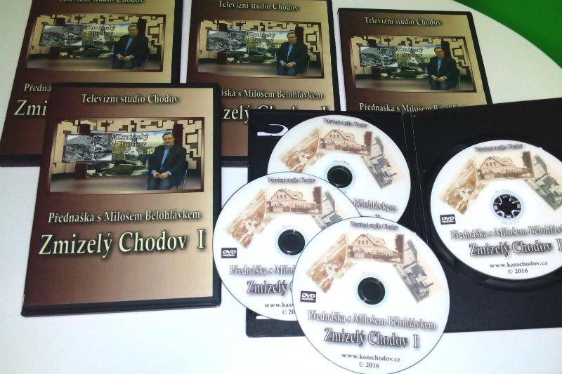 DVD Zmizelý Chodov.