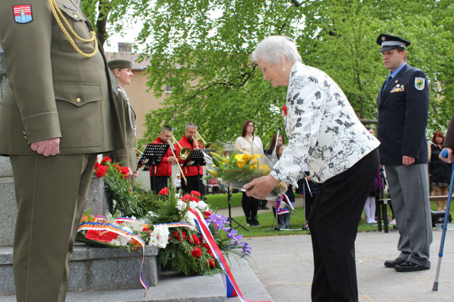 Konec války si Chodov připomíná každý rok. Foto: Martin Polák