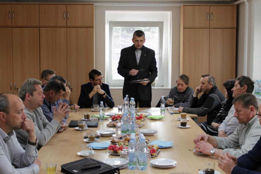 Zahájení setkání vedoucích pracovníků technických služeb. Foto: Martin Polák