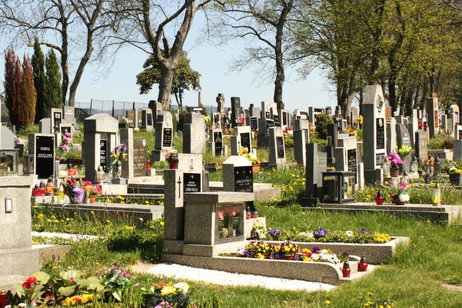 Chodovský hřbitov. Foto: Martin Polák