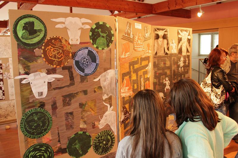 Středeční vernisáž výstavy Děti dětem. Foto: Martin Polák