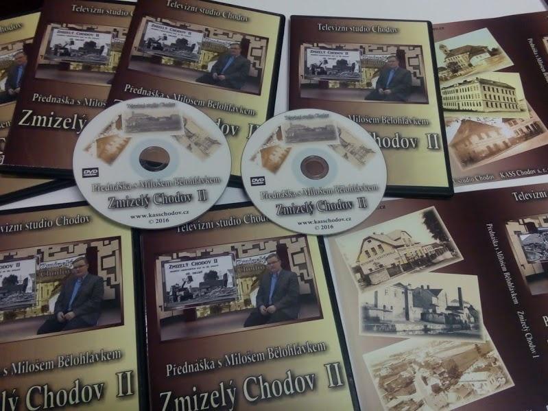 DVD Zmizelý Chodov II. Foto: Jan Kurčík