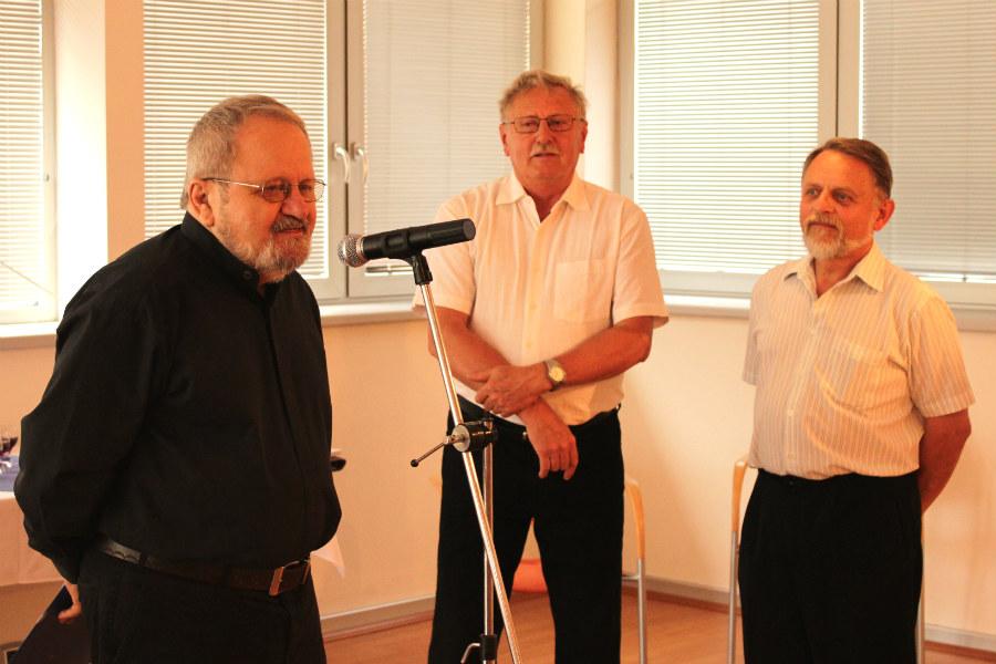 Jiří Jun, Zdeněk Šplíchal a Antonín Kanta (zleva). Foto: Martin Polák