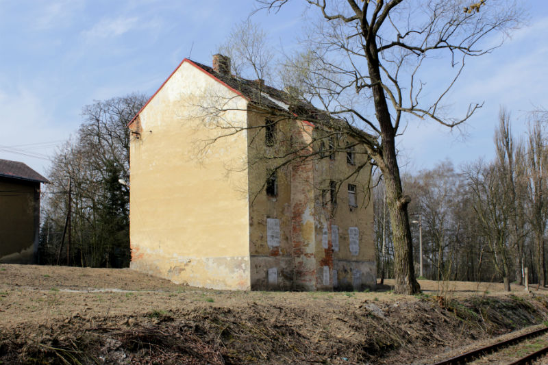Pohled na dům, který nechá město odstranit. Foto: Martin Polák