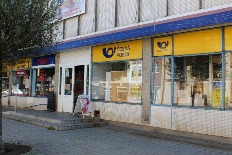 Pošta ve Staroměstské ulici. Foto: Martin Polák