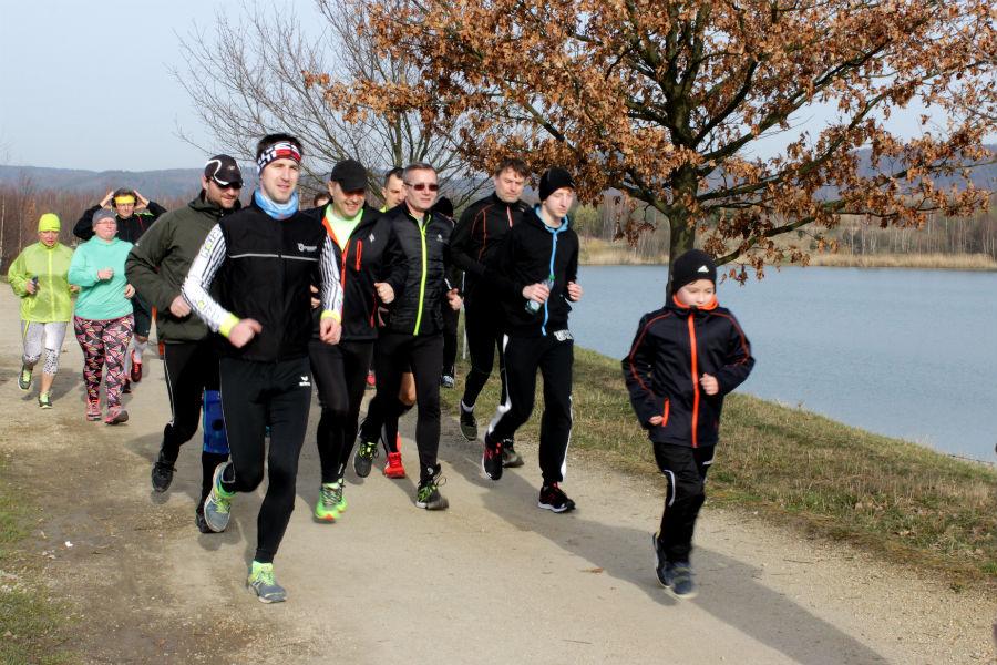 Běžci na Bílé vodě. Foto: Martin Polák