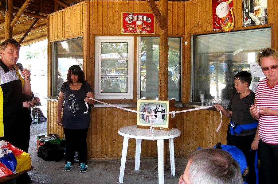 Představení nové knihovničky v areálu BVC Chodov. Foto: Městská knihovna Chodov