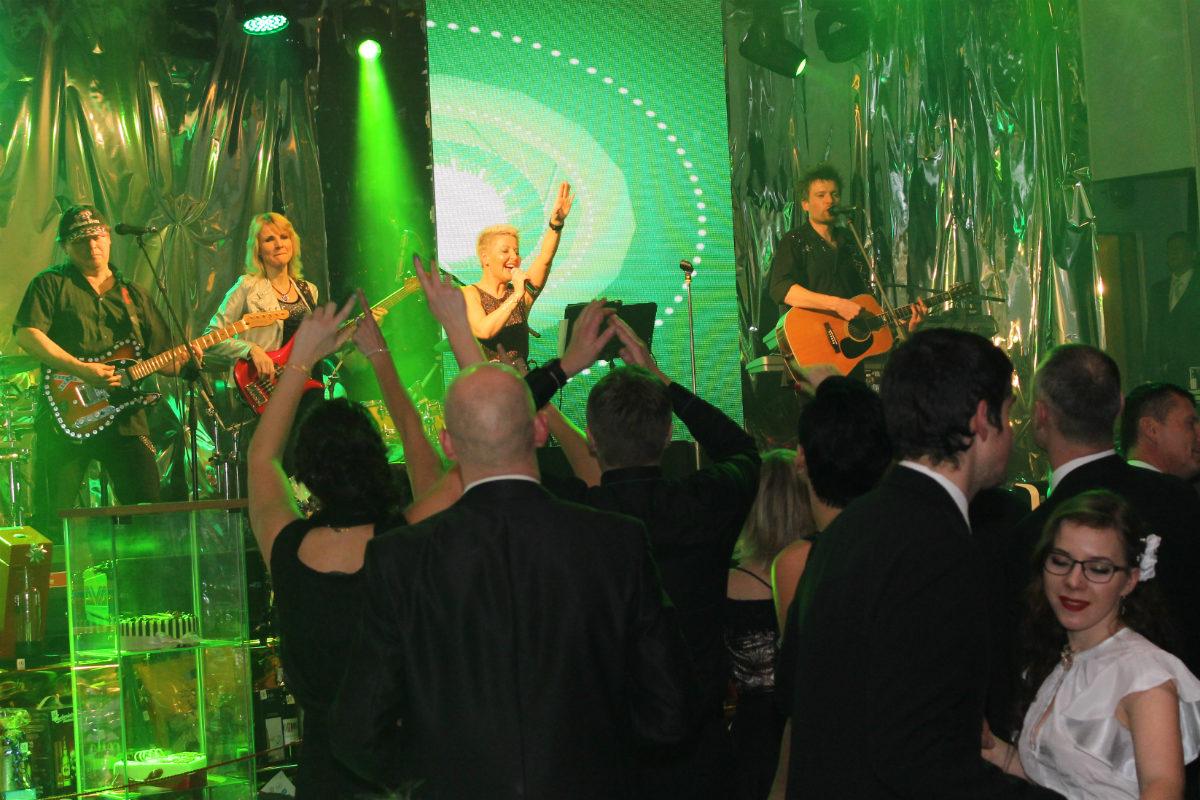 Skupina Roxette revival přivedla sál do varu. Foto: Martin Polák