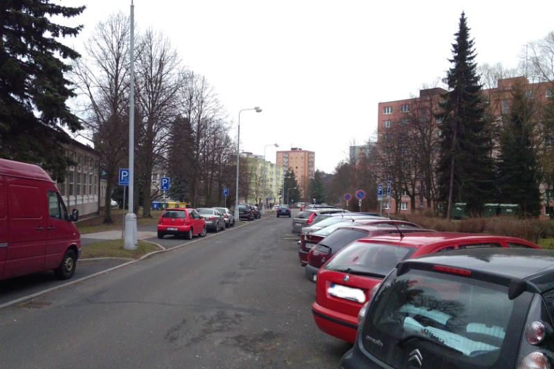 Pohled do ulice Smetanova. Foto: Martin Polák