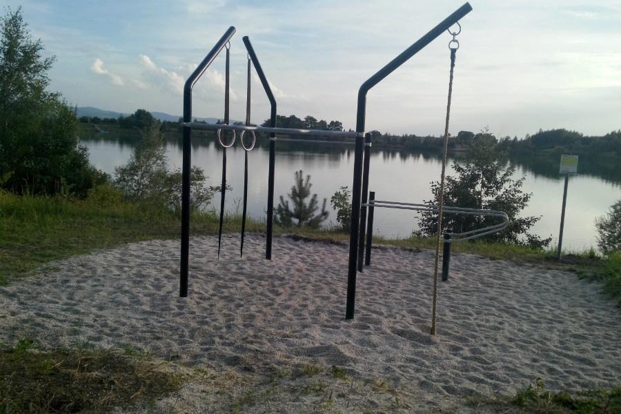 Nové workoutové hřiště na Bílé vodě. Foto: Martin Polák
