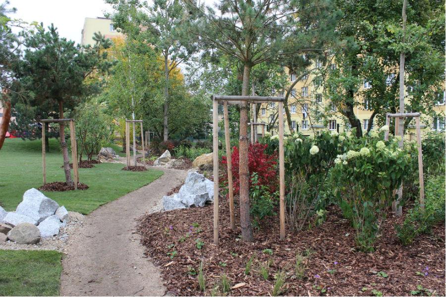 Pohled na  část zahrady. Foto: Martin Polák
