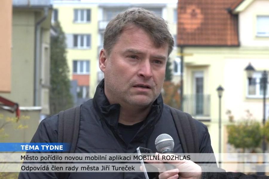 Radní Jiří Tureček v pořadu Téma týdne.
