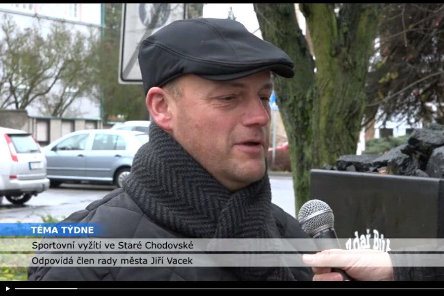 Radní Jiří Vacek v pořadu Téma týdne.