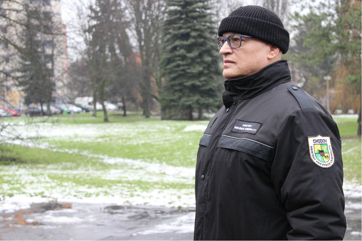 Na pozici asistenta působí dlouholetý strážník. Foto: Martin Polák
