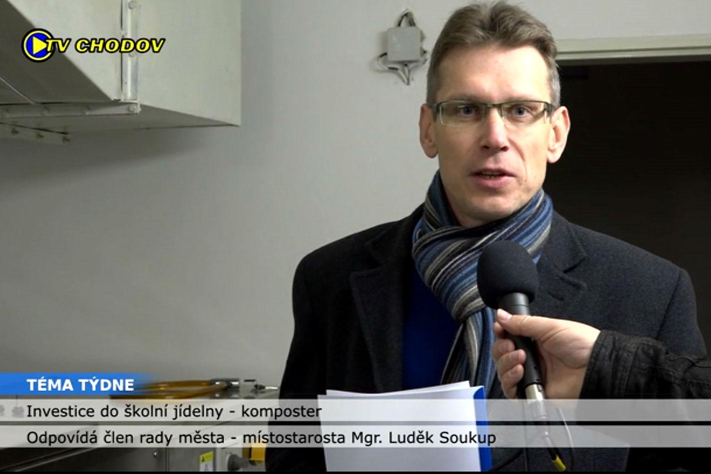 Místostarosta Luděk Soukup v pořadu Téma týdne.