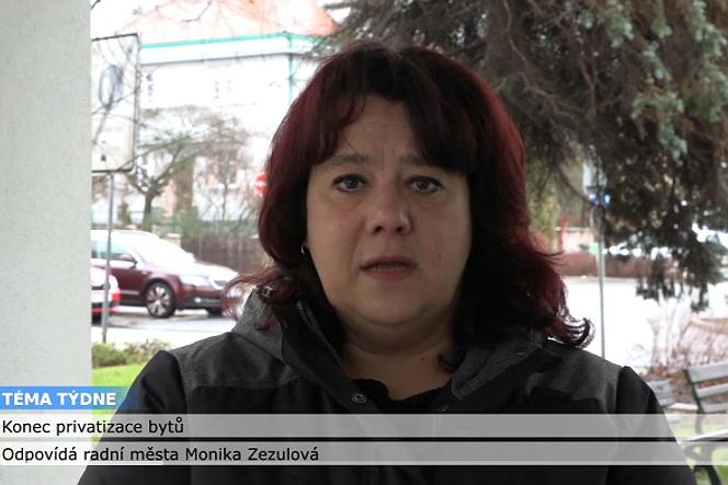 Monika Zezulová v pořadu Téma týdne.