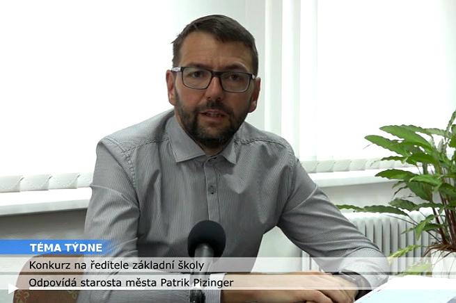 Starosta města Patrik Pizinger v pořadu Téma týdne.