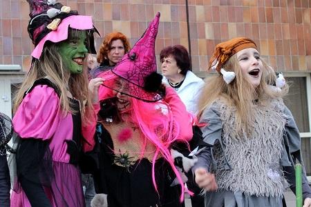 Snímek z loňského pálení čarodějnic. Foto: Martin Polák