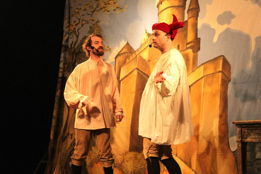 Divadelní představení pro děti v Chodově. Foto: Martin Polák