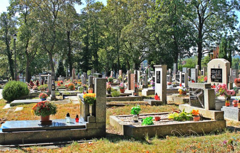 Městský hřbitov v Chodově. Foto: Martin Polák