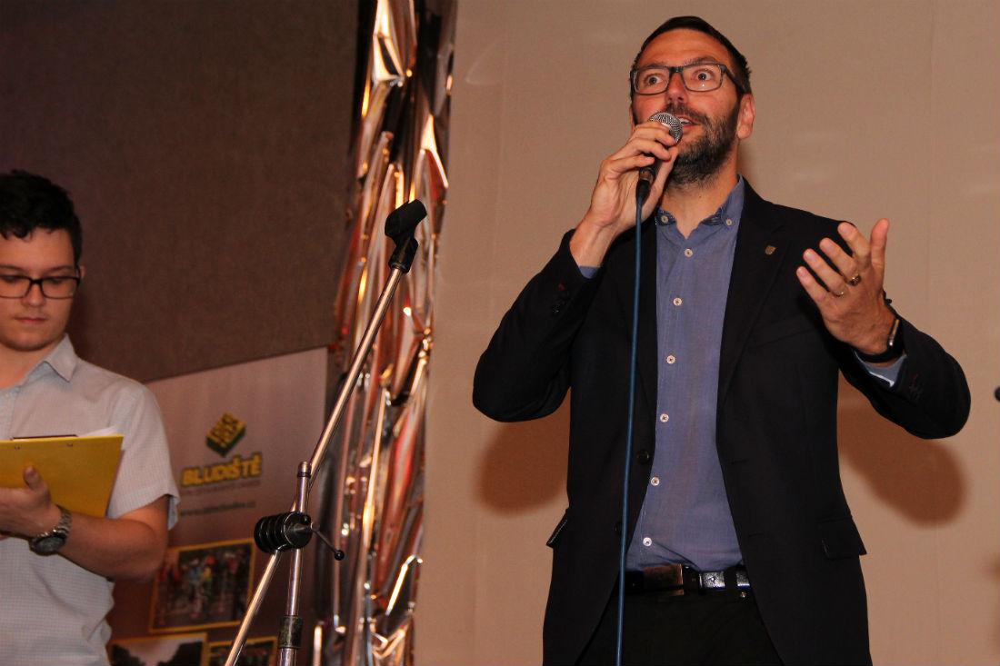 Soutěž zahájil starosta Chodova Patrik Pizinger. Foto: Martin Polák
