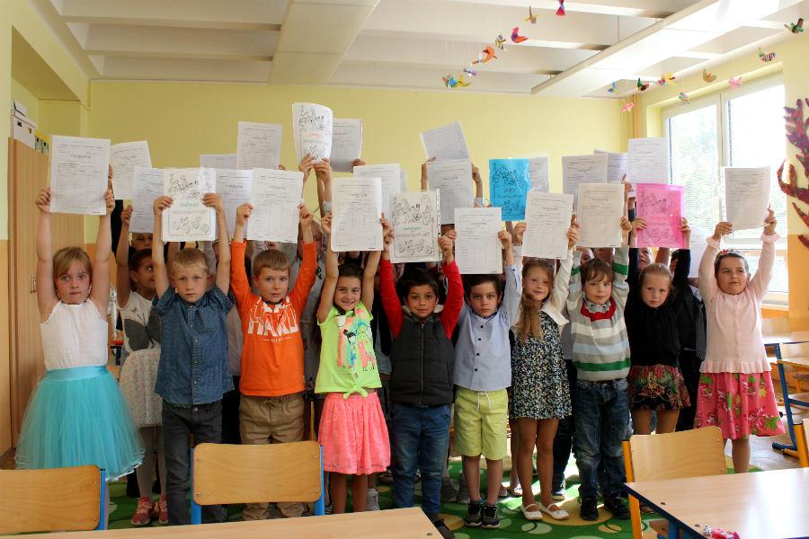 Páteční předávání vysvědčení v chodovských školách. Foto: Martin Polák