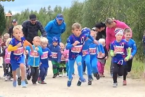Závodu se účastnili i běžci mladších ročníků.