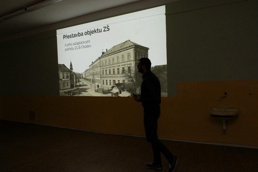 Starosta při prezentaci studie. Foto: Martin Polák