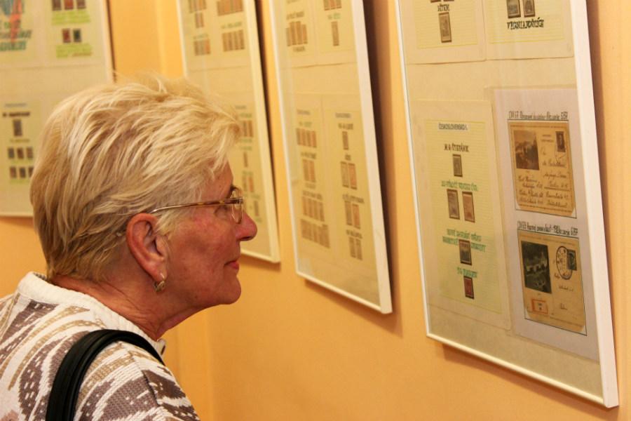 Výstava známek v DDM Bludiště. Foto: Martin Polák