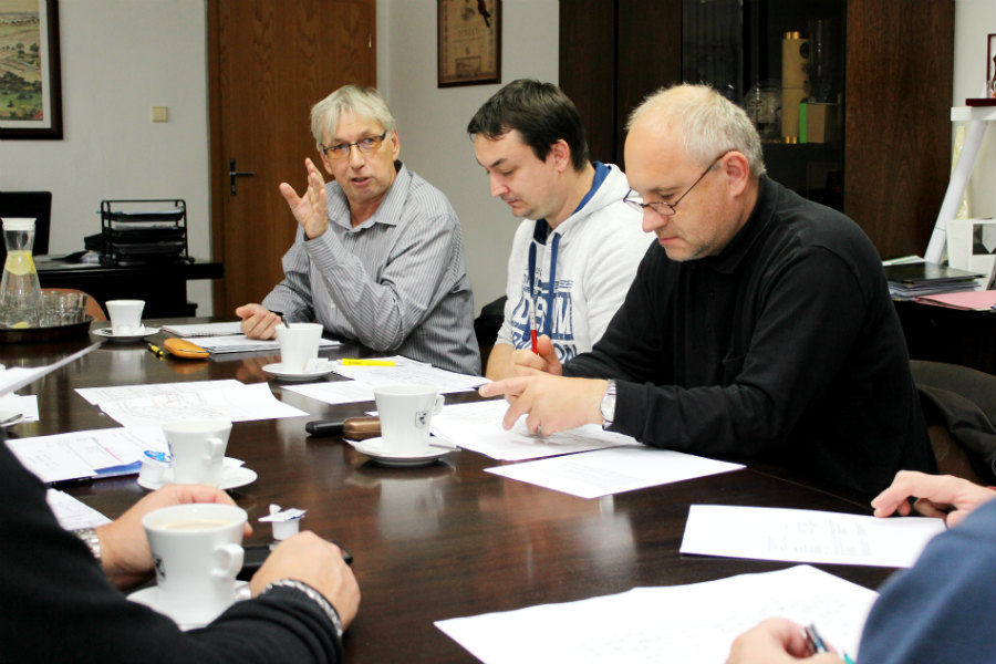 První pracovní schůzka na radnici. Foto: Martin Polák