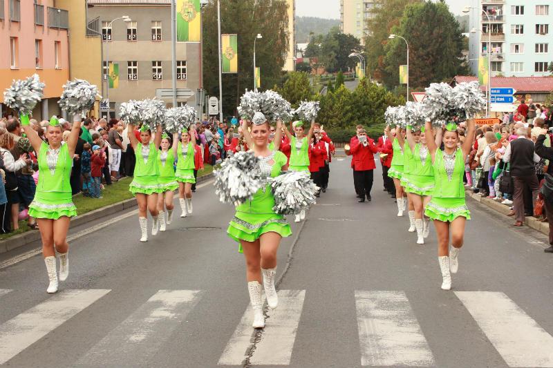 Průvod při městských oslavách v roce 2014. Foto: Martin Polák