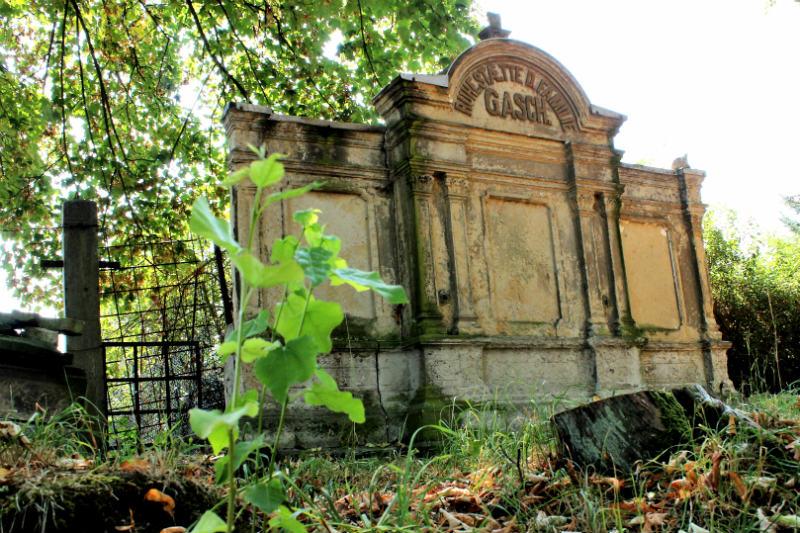 Hrobka rodiny Gaschů. Foto: Martin Polák