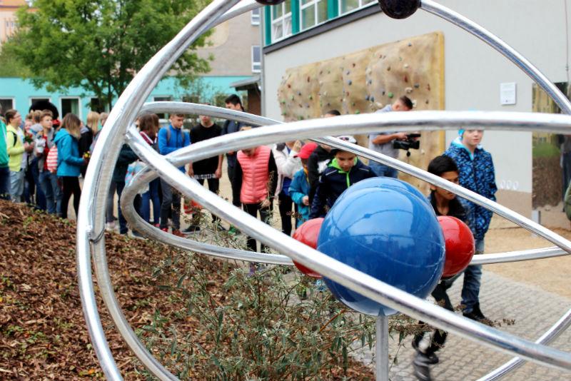 Zahrada ekologického centra. Foto: Martin Polák