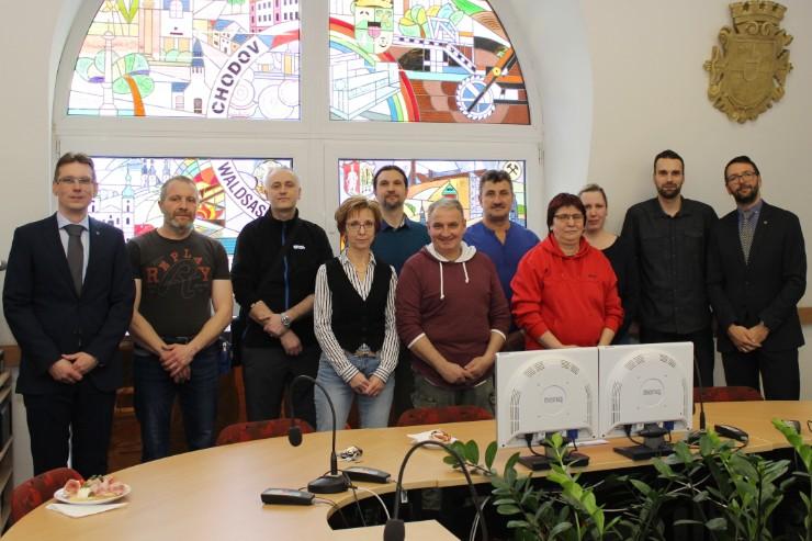 Setkání dárců s vedením města na radnici. Foto: Martin Polák
